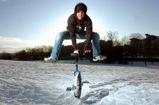 Stunt Unicyclist Jason Auld